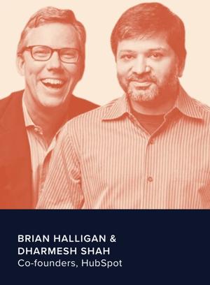 Brian halligan & Darmesh Shah