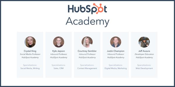 hubspot academy formateurs